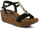 Azura Lawna T-Strap Wedge Sandal