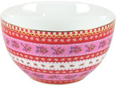 Pip Studio Ribbon Rose Bowl - Pink