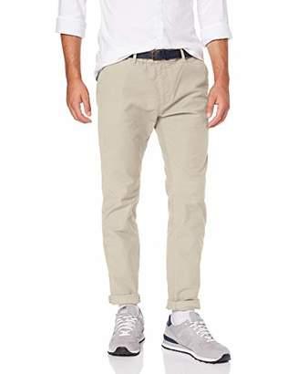 Scotch & Soda Men's Stuart-Classic Garment-Dyed Twill Chino Trouser,W34/L30 (Size: 34/30)