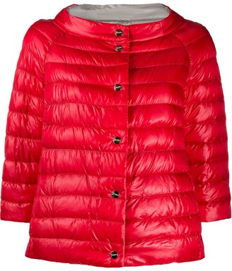 Herno Button-Front Padded Jacket