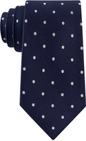 Club Room Men's Texture Dot Tie, Only at Macy's