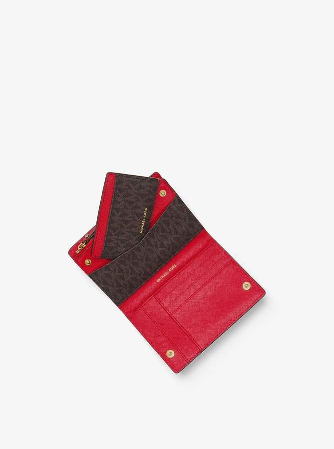 0025b1b66a425d Michael Kors Jet Set Card Case - ShopStyle