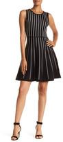 Matty M Sleeveless Printed Knit Dress