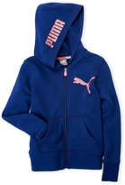Puma Girls 7-16) Zip Hoodie