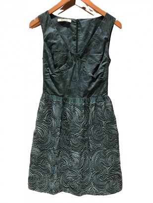 Bally Green Leather Dress for Women