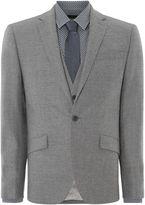 Kenneth Cole Kingsborough Slim Fit Textured Suit Jacket