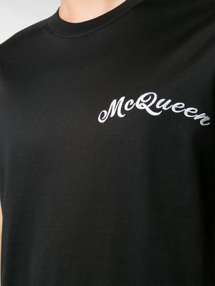 Alexander McQueen embroidered logo T-shirt