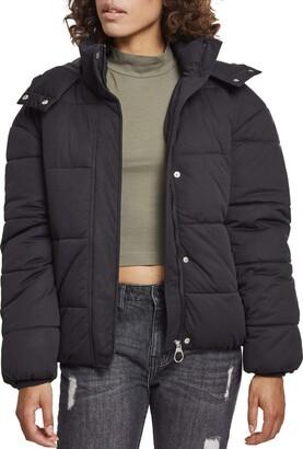 Urban Classics Women's Ladies Boyfriend Puffer Jacket
