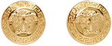 Versace Gold Medusa Earrings
