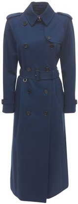 Burberry Waterloo Cotton Canvas Trench Coat