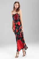 Josie Natori Tapestry Garden Gown