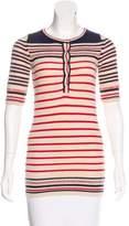 Etoile Isabel Marant Stripe Pattern Knit Top