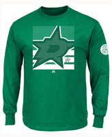 Majestic Men's Dallas Stars Slashing Long Sleeve T-shirt