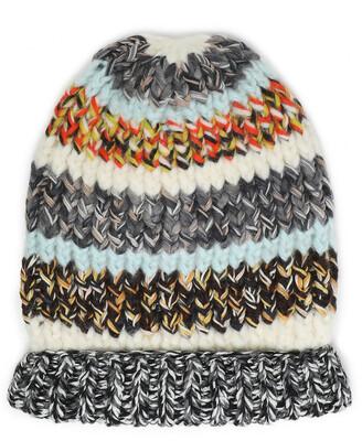 Missoni Striped Ribbed-knit Beanie