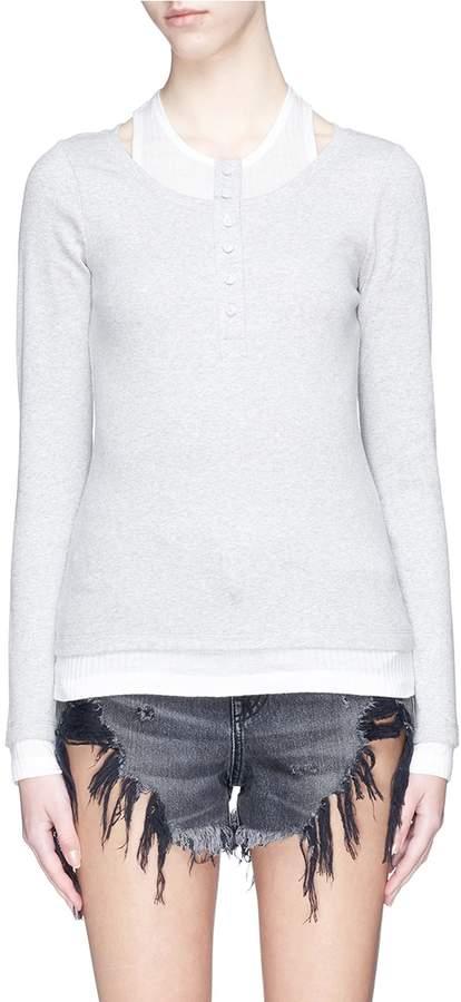 Alexander Wang Tank layered sweater