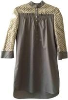 Hoss Intropia Grey Cotton Dress for Women