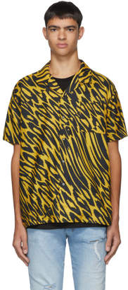 Double Rainbouu Black and Yellow Leopard Party Animal Shirt