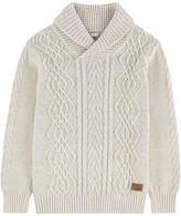 Pepe Jeans Cable stitch knit sweater