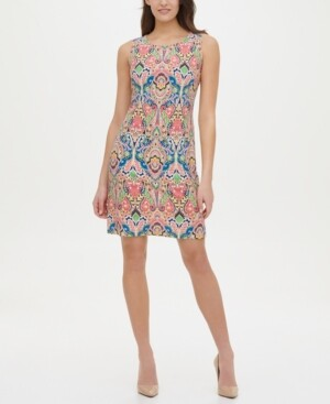 Tommy Hilfiger Printed A-Line Dress