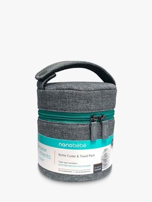 Nanobébé nanobebe Compact Bottle Cooler & Travel Pack, Grey