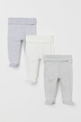 H&M 3-pack Pants - Gray
