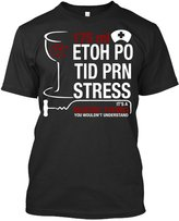 TEEHAY It's Nurse Thing You Wouldn't Understand T Shirt - Funny Nurse T Shirt (S,Black)