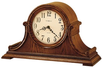 Howard Miller Hillsborough Classic Traditional Old World Chiming Mantel Clock with Silence Option