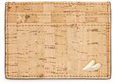 Diane von Furstenberg Cork Tuxedo Card Case