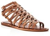 Ivy Kirzhner Santorini Caged Cutout Flat Sandals