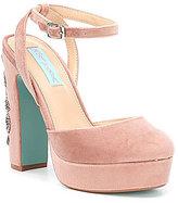 Betsey Johnson Blue by Alana Platform Sandals