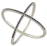 Nordstrom Women's Bony Levy Crossover Diamond Ring Exclusive)