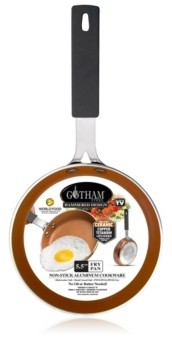 "Gotham Steel Hammered 5.5"" Egg Pan"