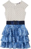 Speechless Girls 7-16 & Plus Size Lace Tiered Dress