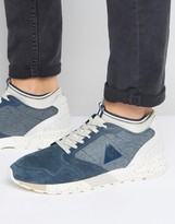 Le Coq Sportif Omicron Trainers In Blue 1710155