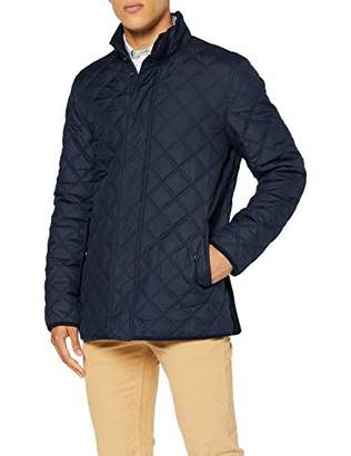 Brooks Brothers Men's Quilted Walking Coat,X-Large