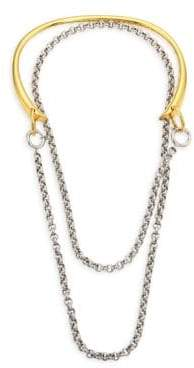 Charlotte Chesnais Briska 18K Yellow Goldplated Necklace