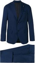 Lardini two-piece suit - men - Cupro/Viscose/Wool - 52