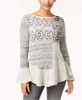 Style&Co. Style & Co Peplum Sweater, Created for Macy's