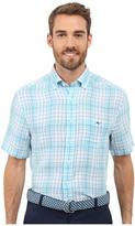 Vineyard Vines Meads Bay Classic Short Sleeve Tucker Shirt