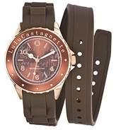 Lulu Castagnette Women's Watch Analogue Quartz Brown 38743