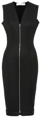 Victoria Beckham Wool-blend sheath dress