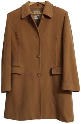 Burberry Camel Wool Coat for Women Vintage