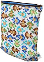 Bed Bath & Beyond Planet Wise Wet Bag in Monkey Fun