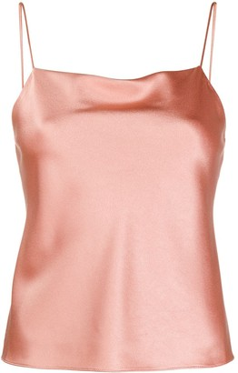 Alice + Olivia Harmon draped slip top