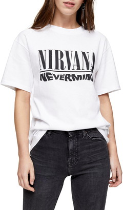 Topshop by And Finally Nirvana Tee