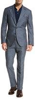 Brunello Cucinelli Wool-Blend Textured Two-Piece Suit