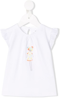 Knot Doll embroidered T-shirt
