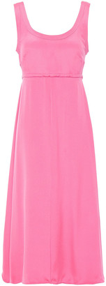 Valentino Cutout Silk Midi Dress