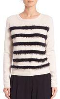Max Mara Abramo Eyelash-Striped Sweater
