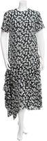No.21 No. 21 Silk Stripe Printed Maxi Dress w/ Tags
